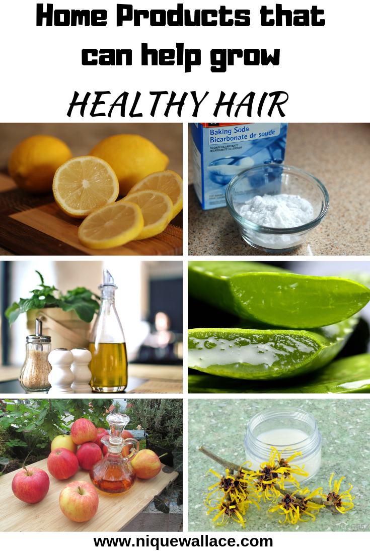 Home Products that can grow Healthy hair | Nique's Beauty